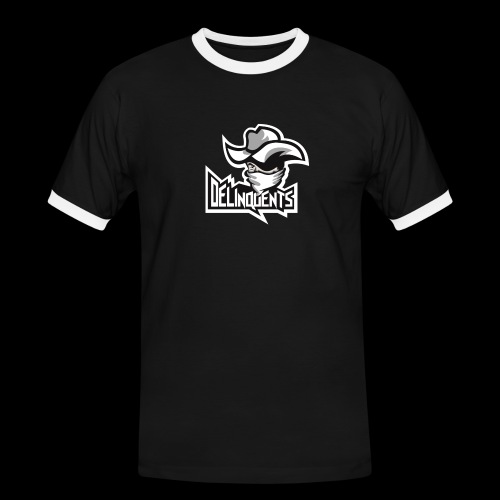 Delinquents TriColor - Herre kontrast-T-shirt