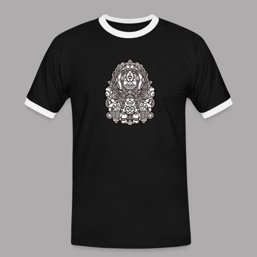 connected black - Men's Ringer Shirt