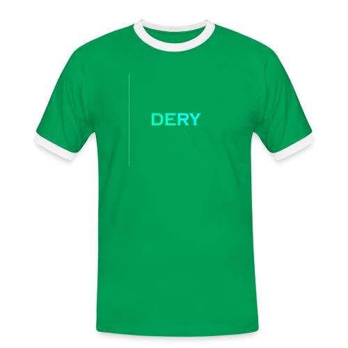 DERY - Männer Kontrast-T-Shirt