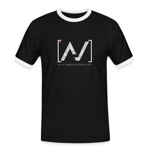 logoalpha blanc - T-shirt contrasté Homme