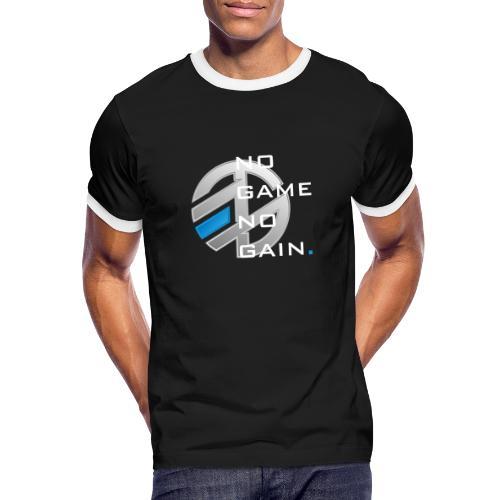 NO GAME NO GAIN - T-shirt contrasté Homme