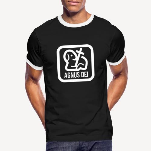 AGNUS DEI - Men's Ringer Shirt