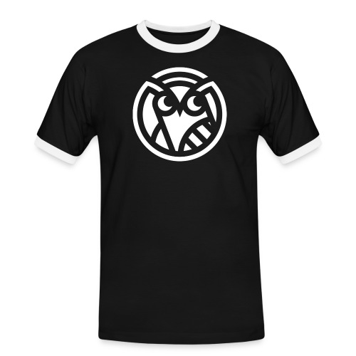 Curieux - T-shirt contrasté Homme