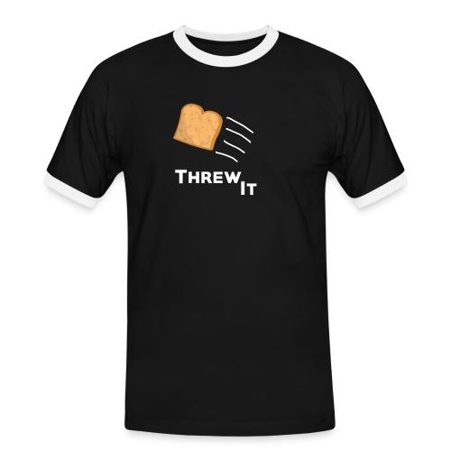 Toast - Männer Kontrast-T-Shirt