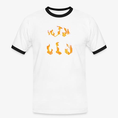 CLG DESIGN - T-shirt contrasté Homme
