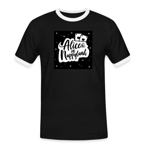 Alice in Nappyland 1 - Men's Ringer Shirt