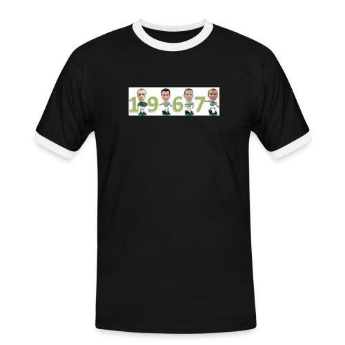 Celtic 1967 players - Men's Ringer Shirt