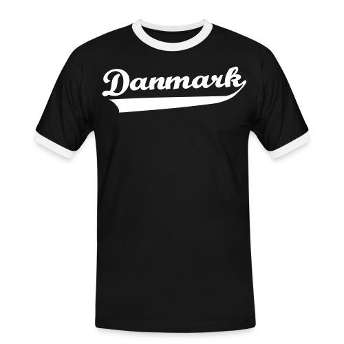 Danmark Swish - Herre kontrast-T-shirt