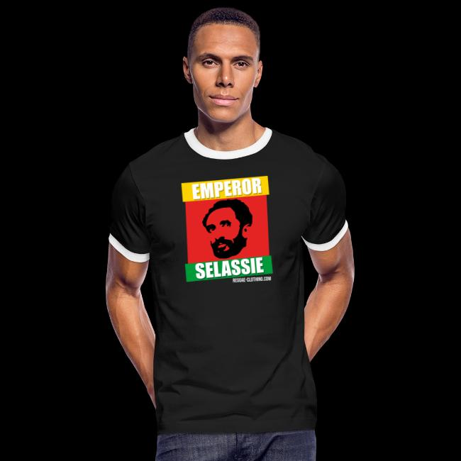 EMPORER SELASSIE red gold green