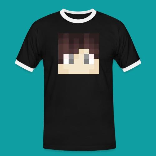 Craptian MClogo - Men's Ringer Shirt