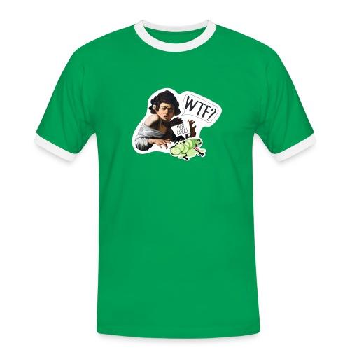 WTF - Camiseta contraste hombre