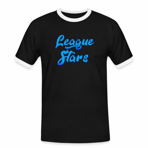 LeagueStars - Mannen contrastshirt
