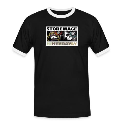 heydaycover - Männer Kontrast-T-Shirt