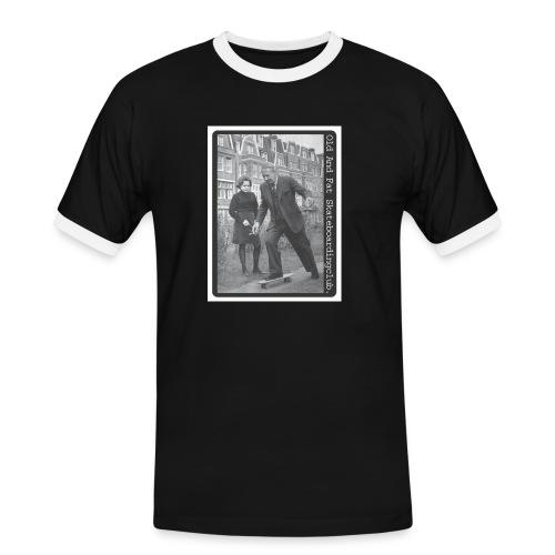 skateboard - Men's Ringer Shirt