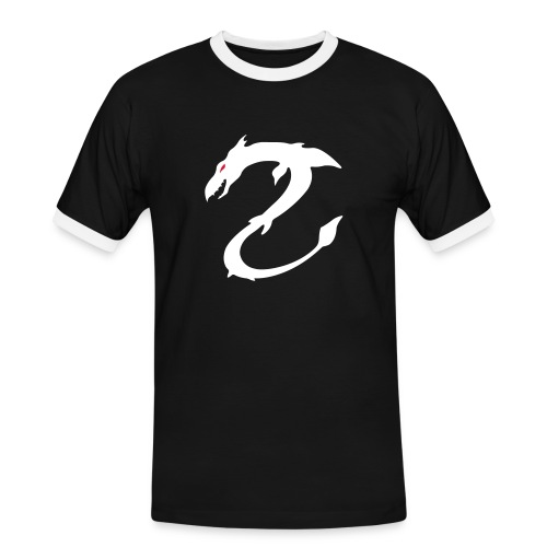 drache - Männer Kontrast-T-Shirt