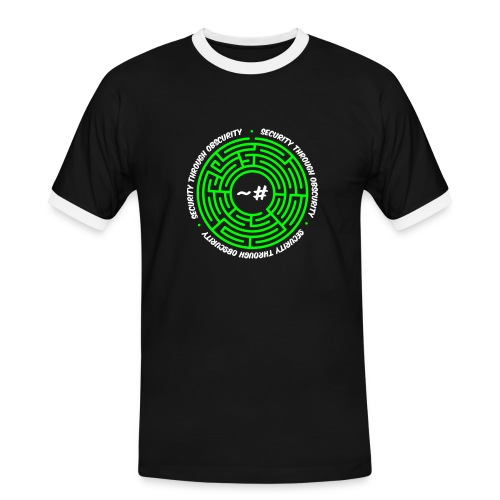 Security Through Obscurity - Men's Ringer Shirt