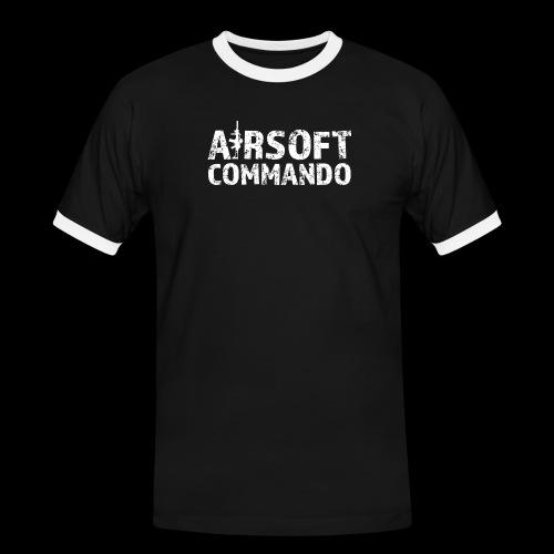 Airsoft Commando - Männer Kontrast-T-Shirt