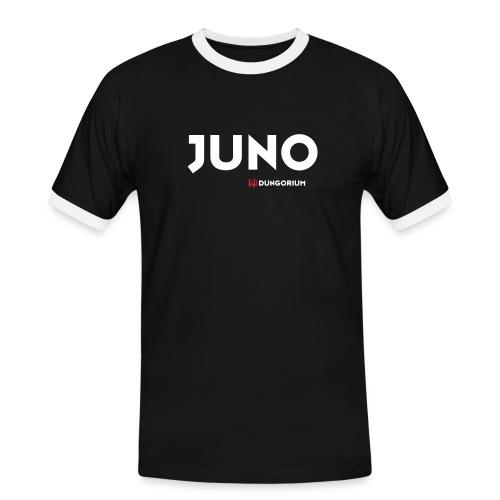 JUNO - Männer Kontrast-T-Shirt