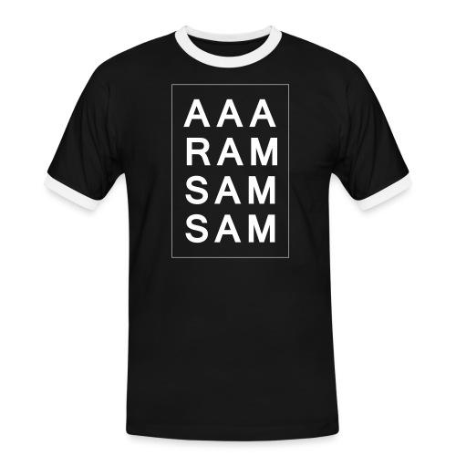 Kindergarten Geschenk - Männer Kontrast-T-Shirt