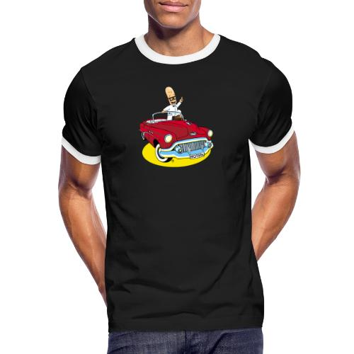 Herr Bohnemann im Buick - Männer Kontrast-T-Shirt