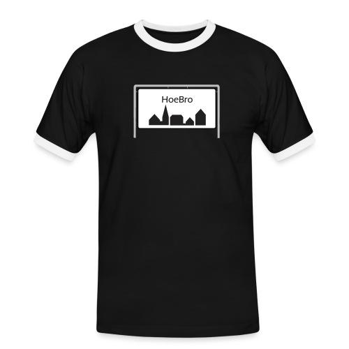 Hoebro - Herre kontrast-T-shirt