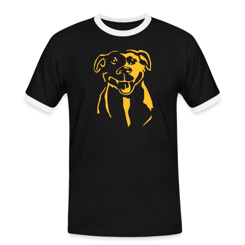 Staffordshire Bull Terrier - Miesten kontrastipaita
