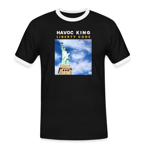 Havoc King Cover - Männer Kontrast-T-Shirt