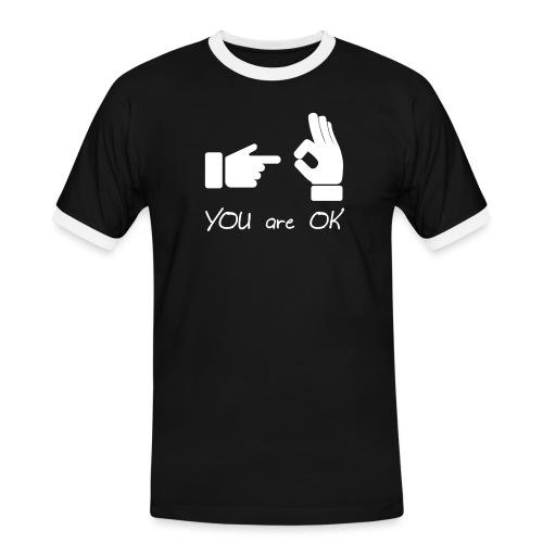 Tu vas bien (sexe, drôle) - T-shirt contrasté Homme