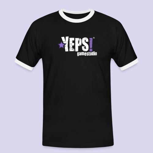 yeps-logo-regular - Männer Kontrast-T-Shirt