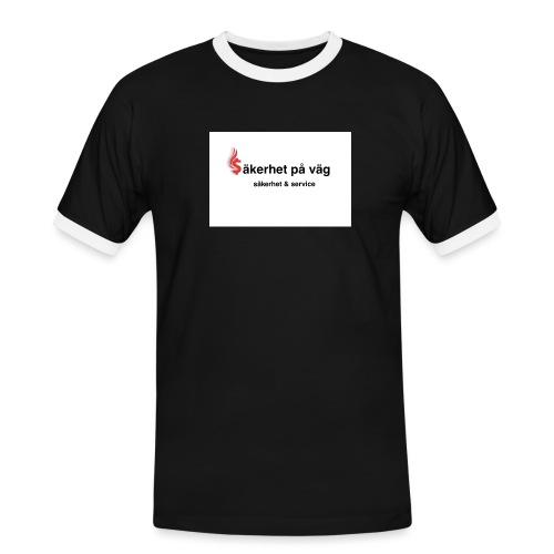 SakerhetPaVag - Kontrast-T-shirt herr