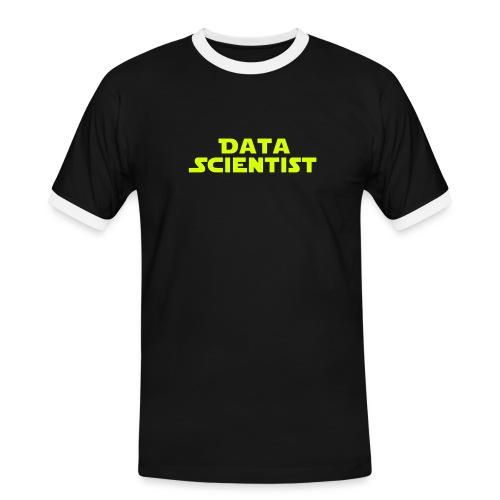Data Scientist - Männer Kontrast-T-Shirt