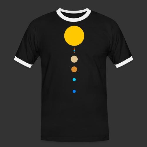 Solar System - Men's Ringer Shirt