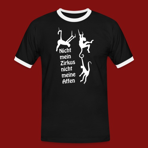 Nicht mein Zirkus - Männer Kontrast-T-Shirt