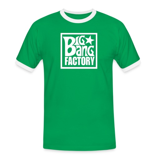 LOGOSTARWHITEBIG PNG png - T-shirt contrasté Homme