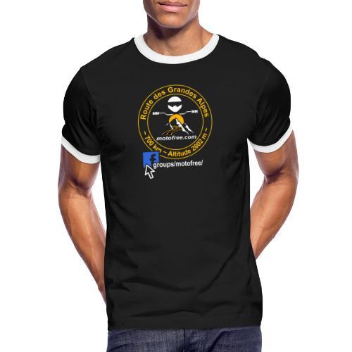 ECUSSON FB - T-shirt contrasté Homme