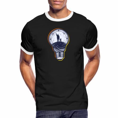 univers - T-shirt contrasté Homme