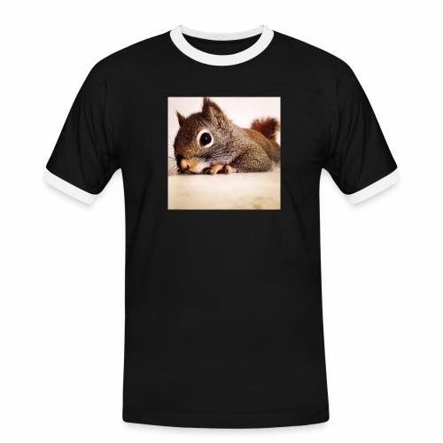 écureuil So Cute - T-shirt contrasté Homme