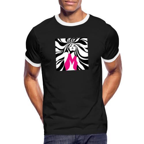 Mélographie - T-shirt contrasté Homme
