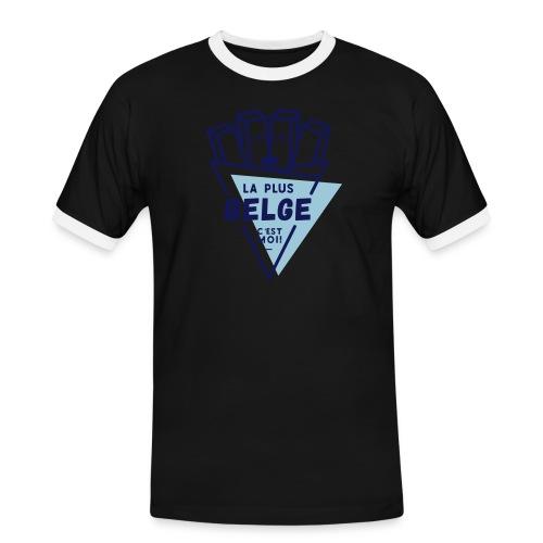 La+Belge - T-shirt contrasté Homme
