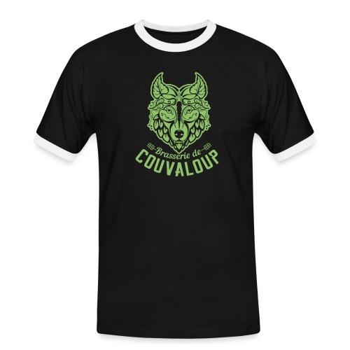 Simple Green Staff Logo - T-shirt contrasté Homme
