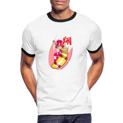 Skating girl - Men's Ringer Shirt