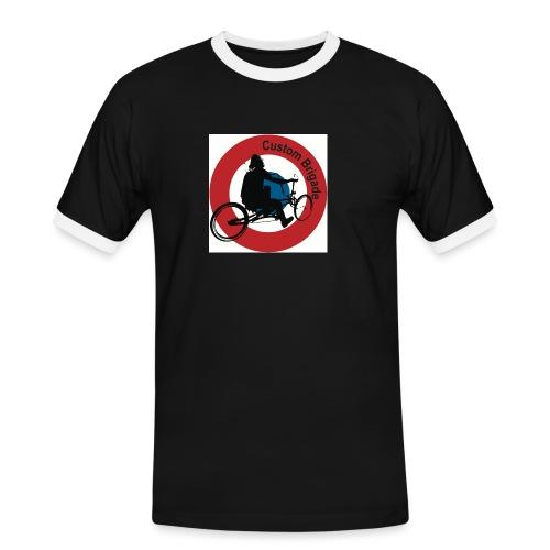 Cocarde Cruiser - T-shirt contrasté Homme