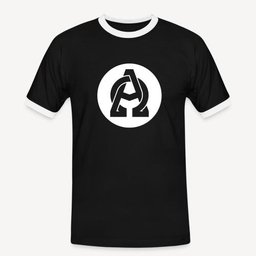 ALPHA AND OMEGA - Men's Ringer Shirt