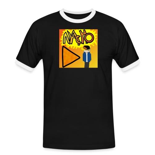 Nacho Title with Little guy - Men's Ringer Shirt
