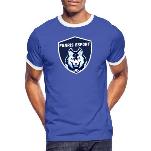 Fenris Esport - Herre kontrast-T-shirt