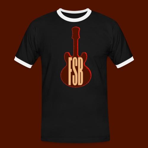 FSB Guitar Logo - Men's Ringer Shirt