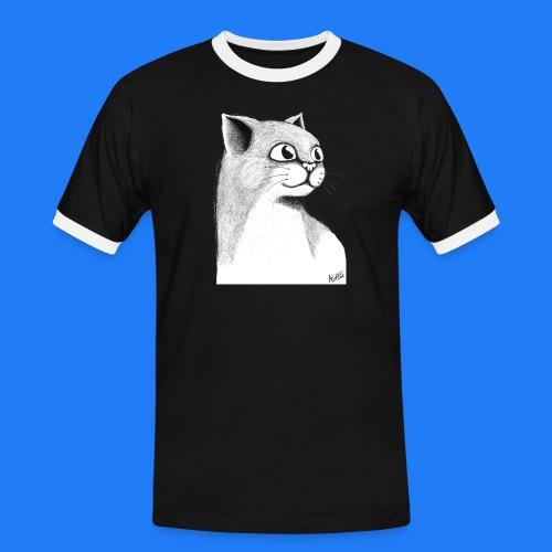 CAT HEAD by AGILL - T-shirt contrasté Homme