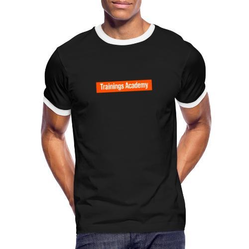 Personal Trainer Orange - T-shirt contrasté Homme