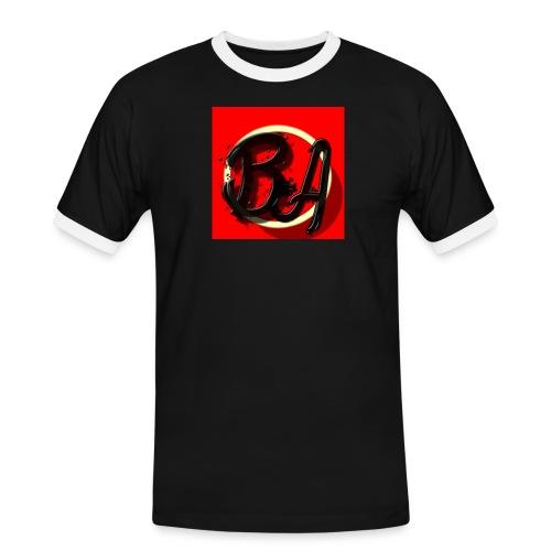 bentings - Kontrast-T-skjorte for menn