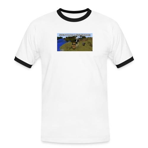 minecraft - Men's Ringer Shirt